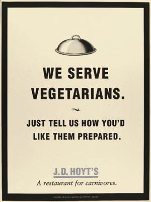 vegitarians