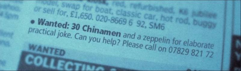30 chinamen