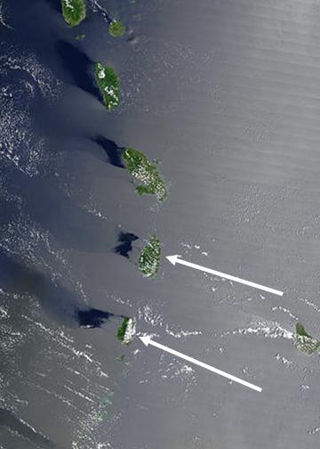 levitating islands