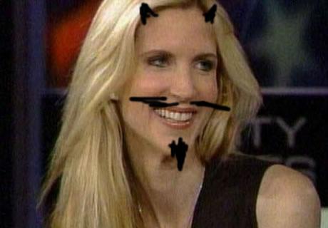 ann moustache
