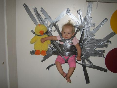 duck tape kid