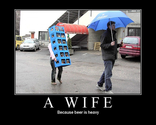 wife carrier