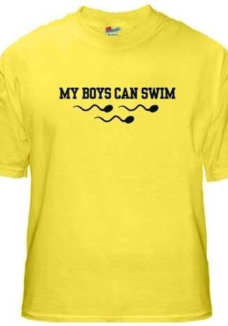 boys can swim