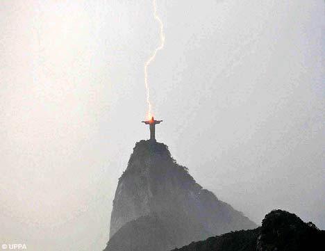 christ lightning