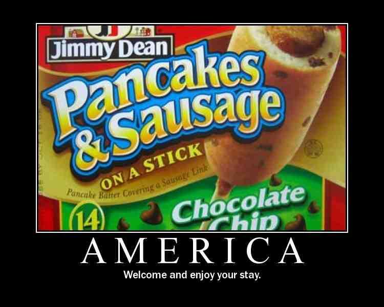 pancake ona stick
