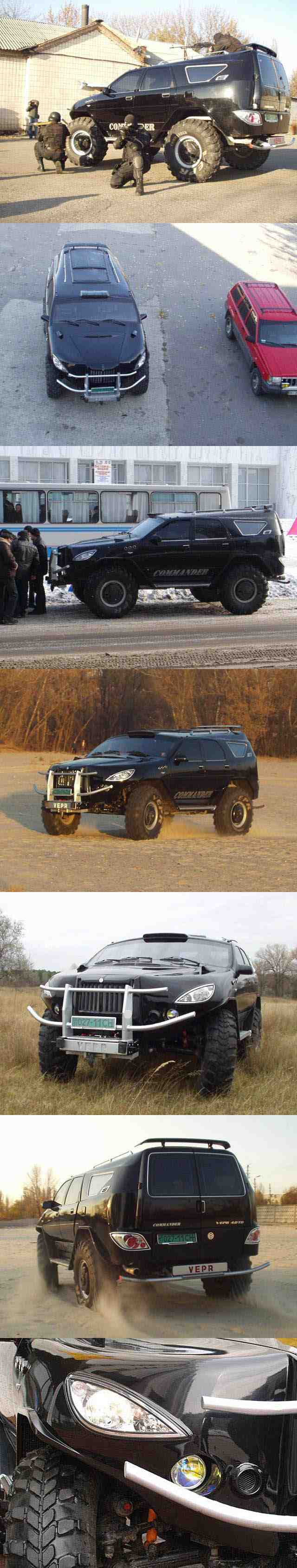 Ukraine Hummer