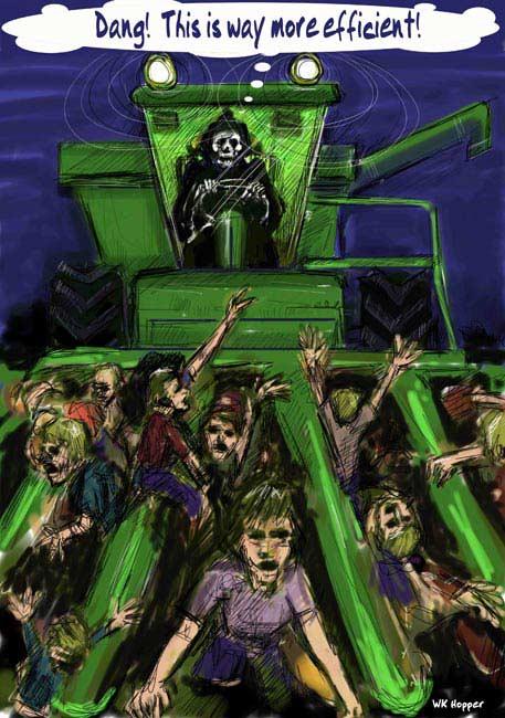 death modernizes