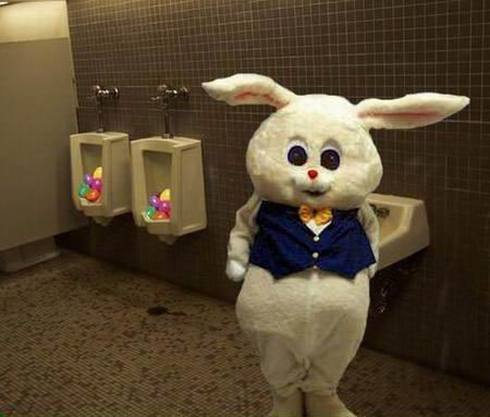 easter urinal