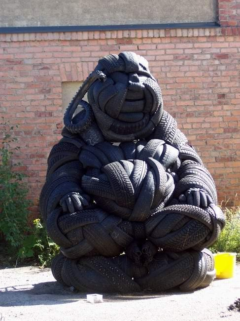 michelin man Buddha