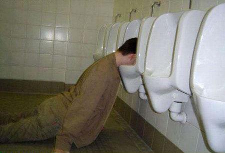 urinal puker