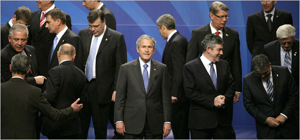 bush and leaders