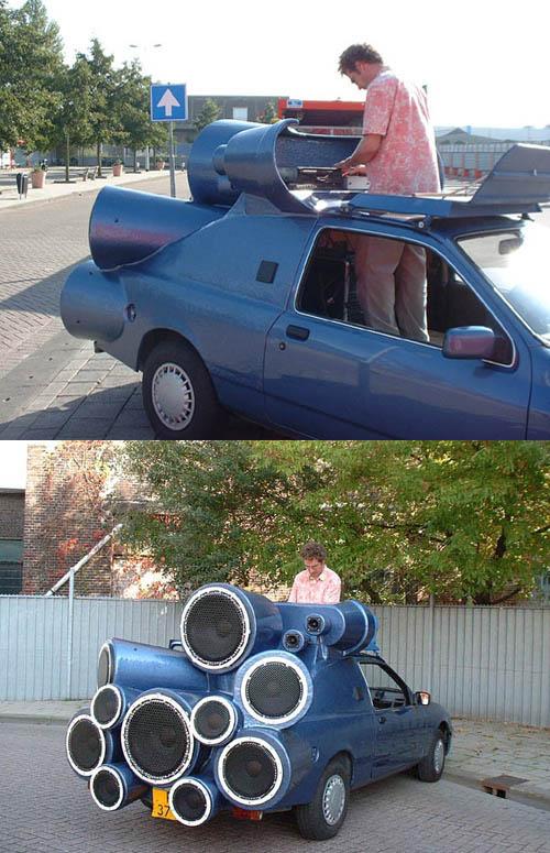 car boombox