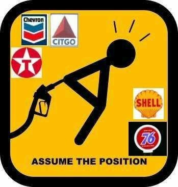 bend over gas