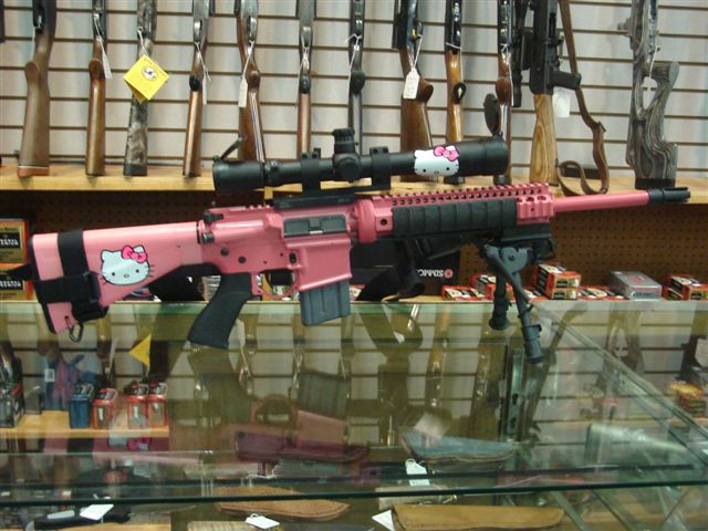 hello kitty assault riflle