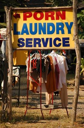 porn laundry