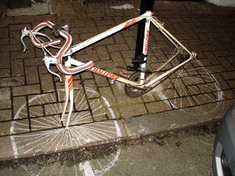 chalk bike