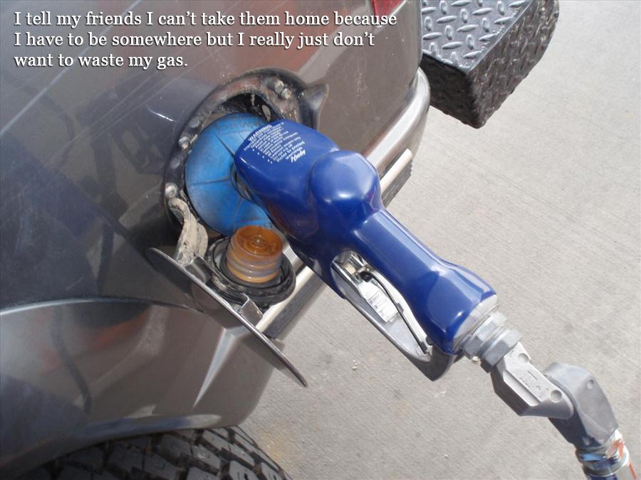 gas lies