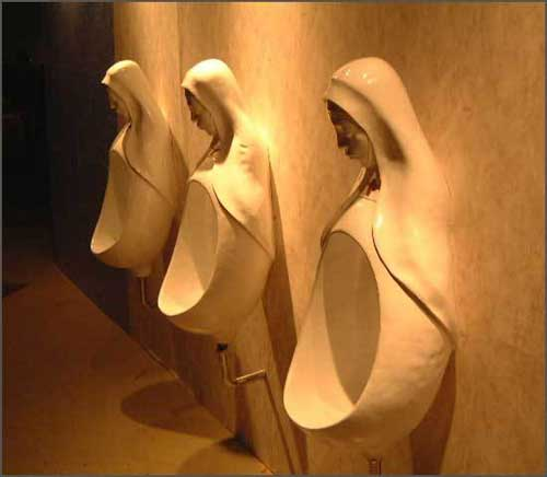 nun urinals