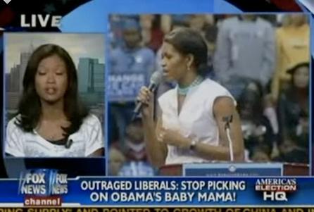 Obama baby mama