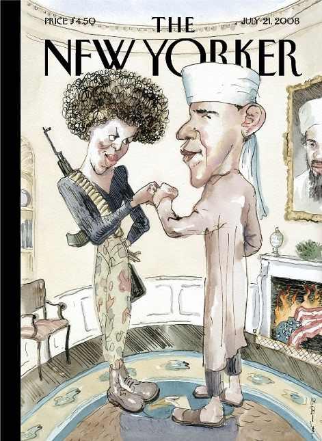 New Yorker Obama