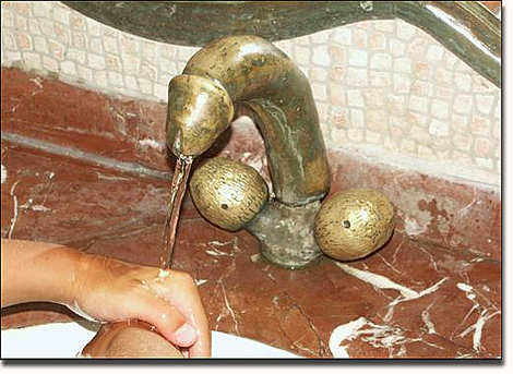 penis faucet