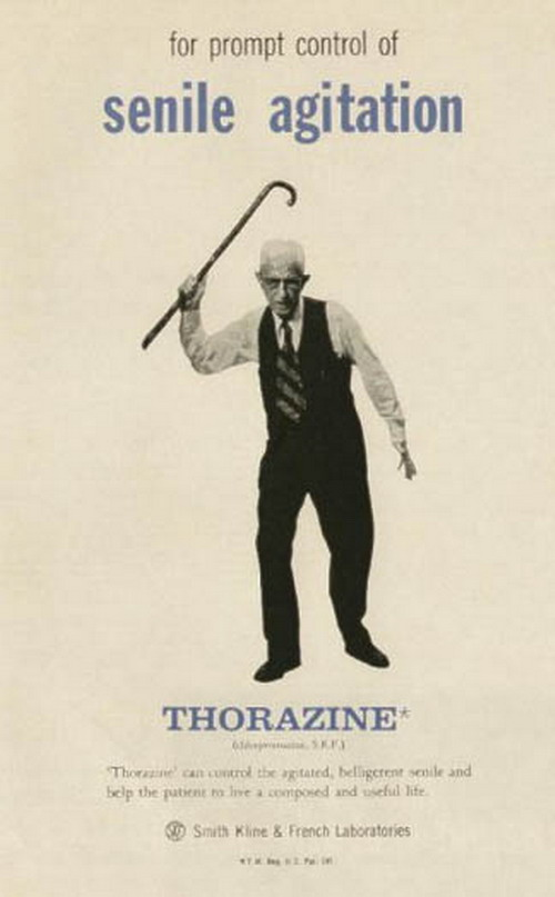 Thorazine for grandpa