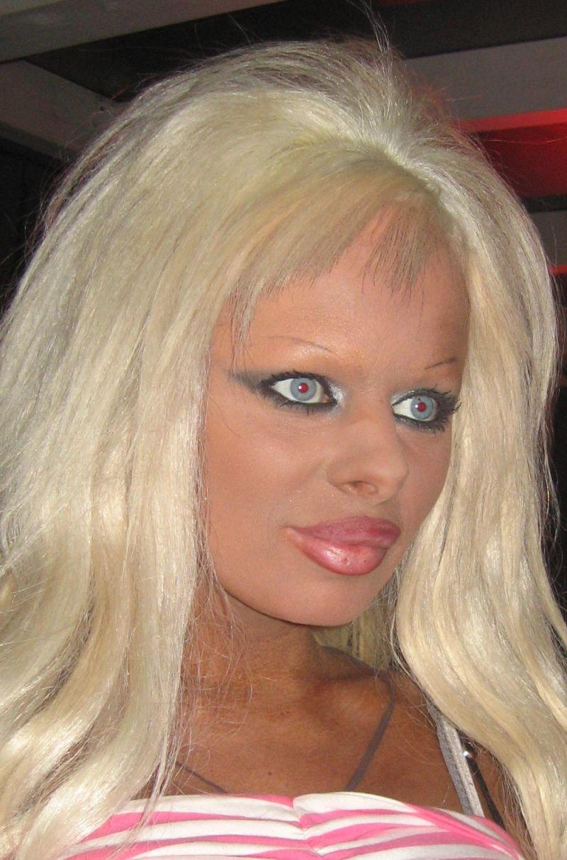 overdone makeup