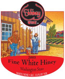 fine white hiney