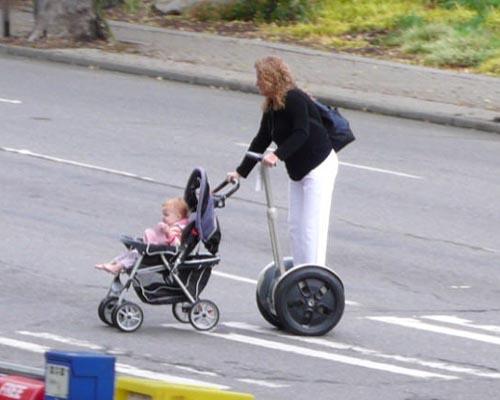 segway stroller