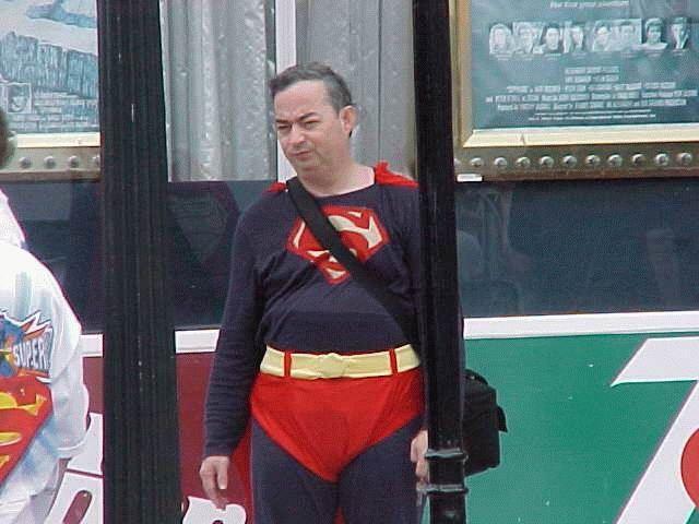 Bill O'rielly Superman
