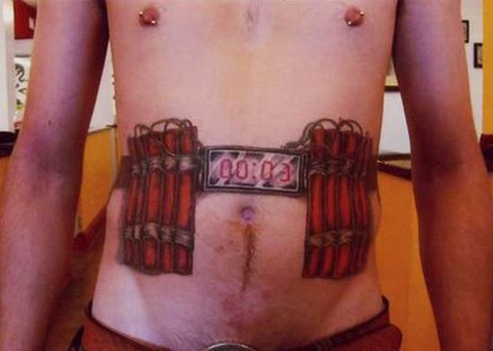 Bomber Belt Tattoo