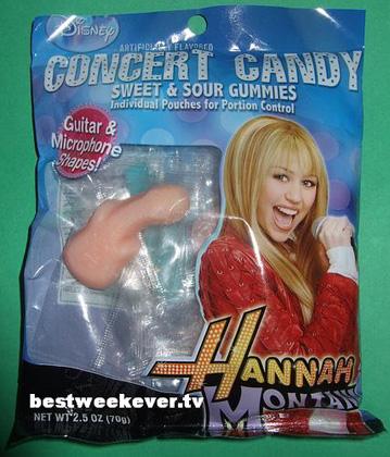 hanna montana candy