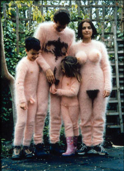 family naked costume