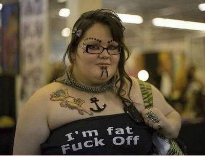 fat fuck off