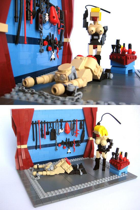 Lego bondage