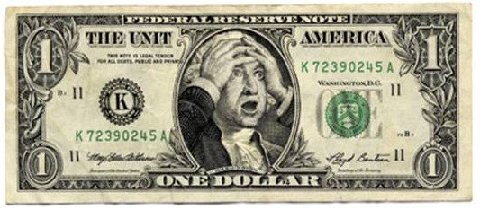 worried dollar