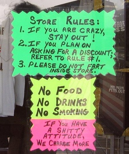Store Rules