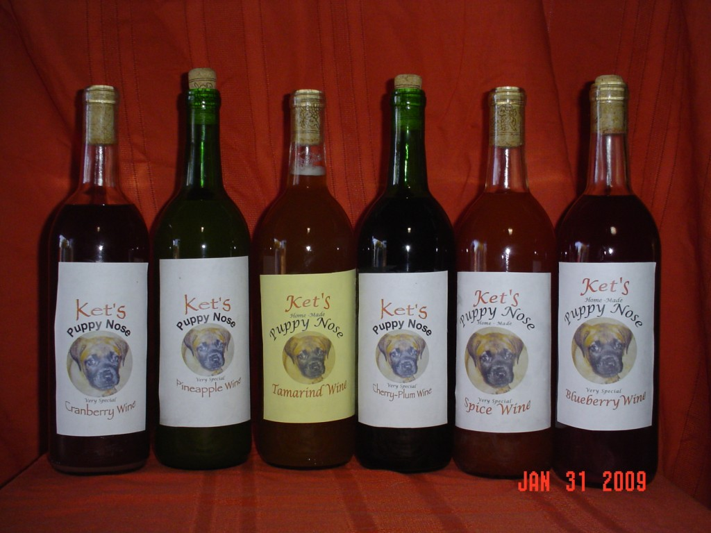 Puppy-Nose Wines