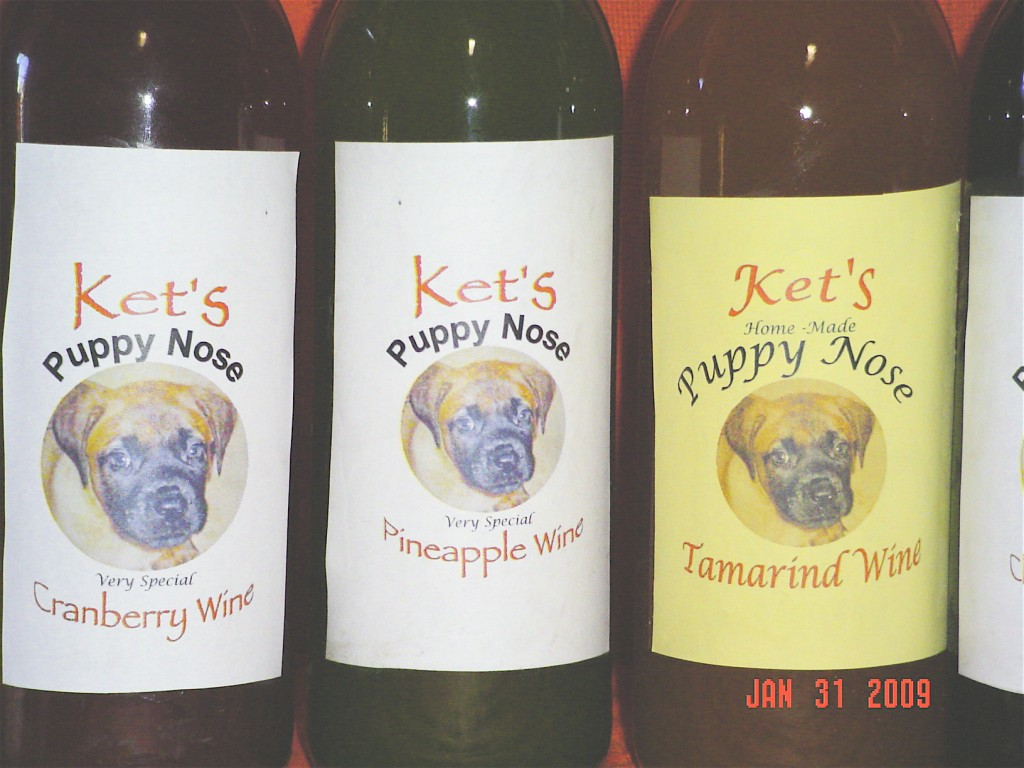 Puppynose wine