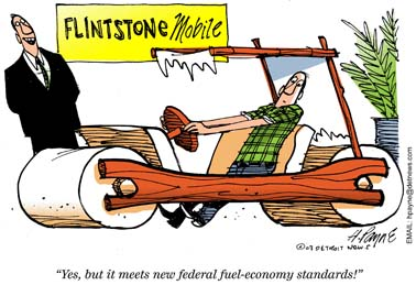 flintstone car