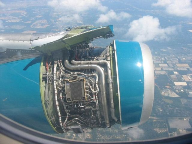 Broken Jet Engine