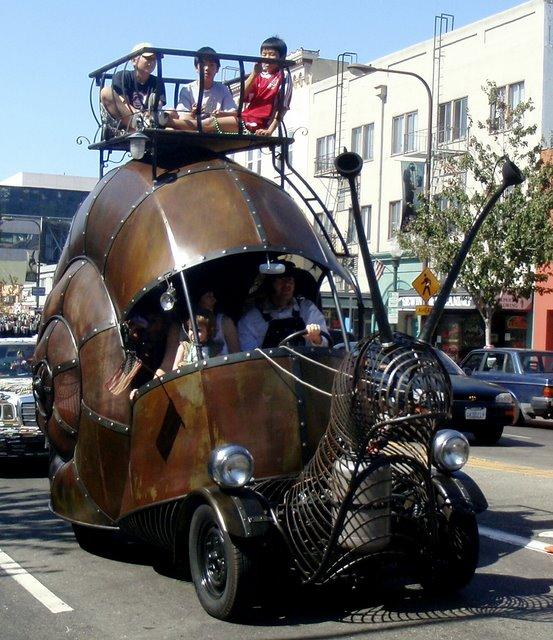snail-car