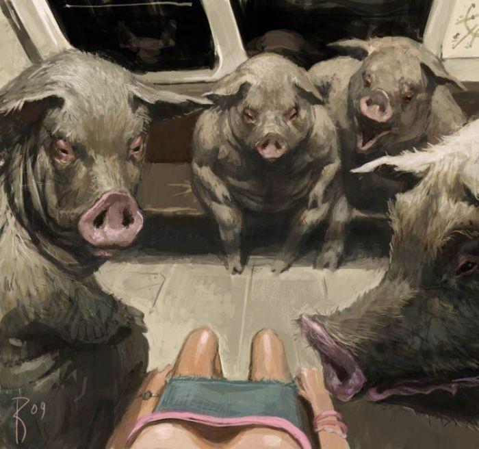 man-hogs