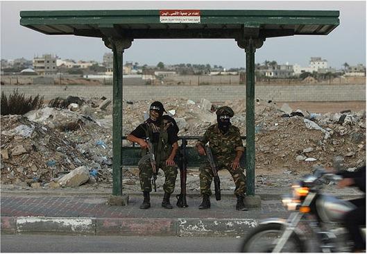 terrorist bus stop