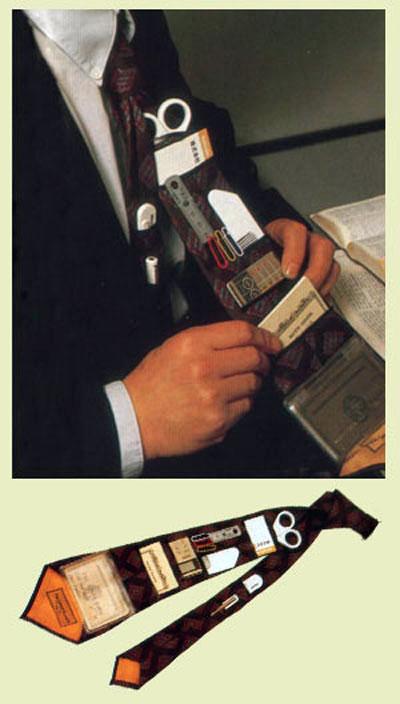 Pocket tie