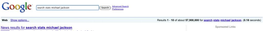 google resultsMJ