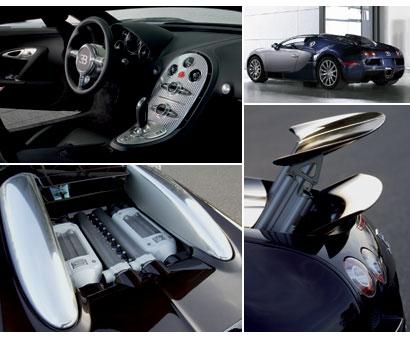 Bugatti Veyron collage