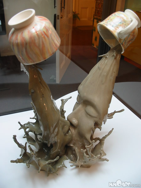 coffe scupture