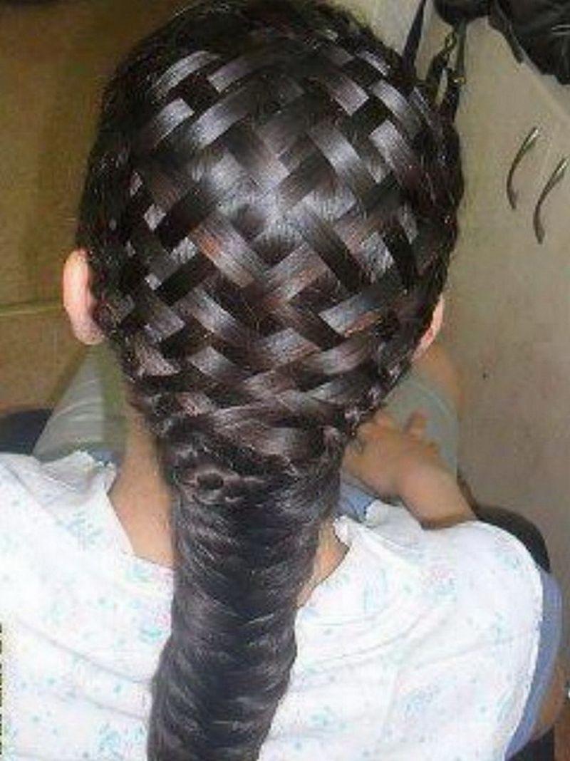 Basket Weave Hair Weave Los Cuatro Ojos