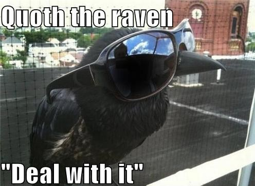 Raven Deal with it